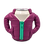 Thumbnail: Puffin Coozies Full Jacket (Plum/Teal)