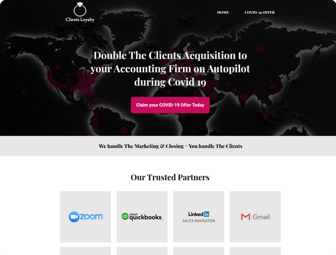 Marketing Nomad Portfolio Clients Loyalt