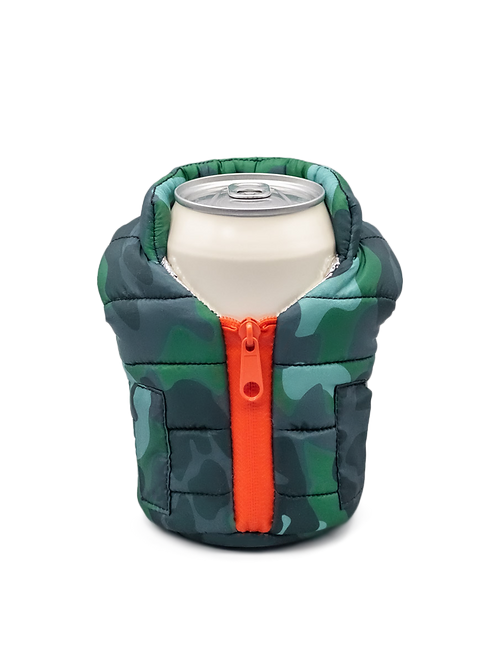 Puffin Coozies Jacket Vest (Camo)