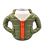 Thumbnail: Puffin Coozies Full Jacket (Green/Orange)