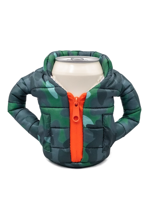 Puffin Coozies Full Jacket (Camo)