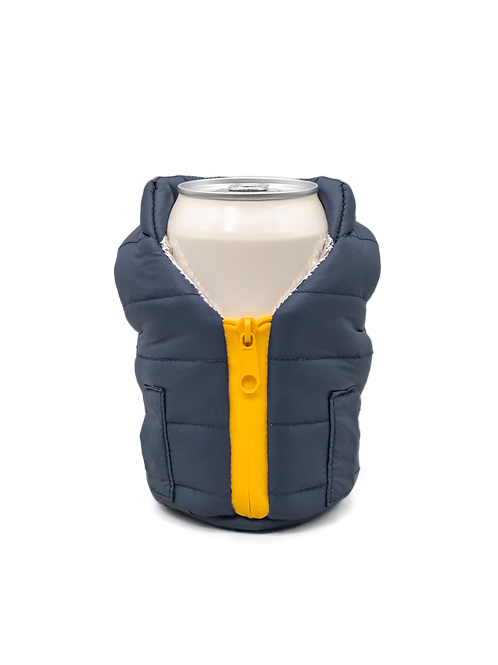 Puffin Coozies Jacket Vest (Blue/Yellow)