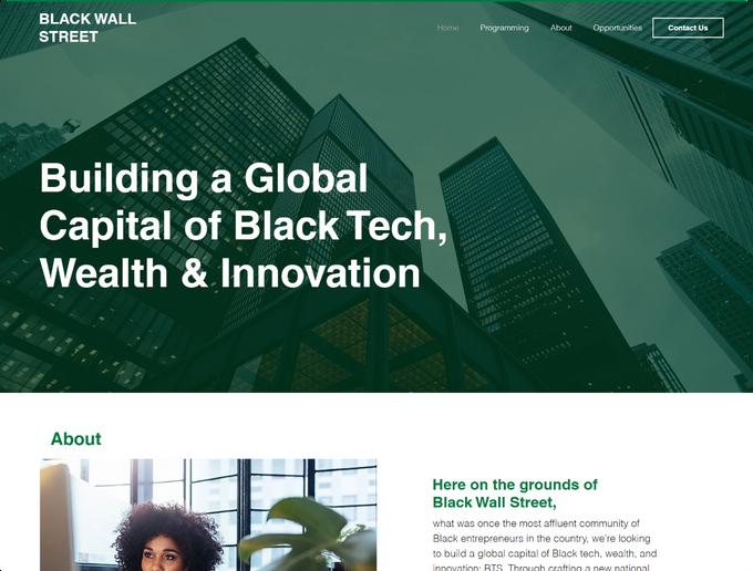 Marketing Nomad Portfolio Black Wall Str
