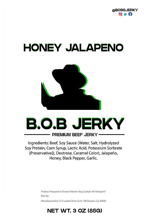B.O.B Honey Jalapeno Jerky