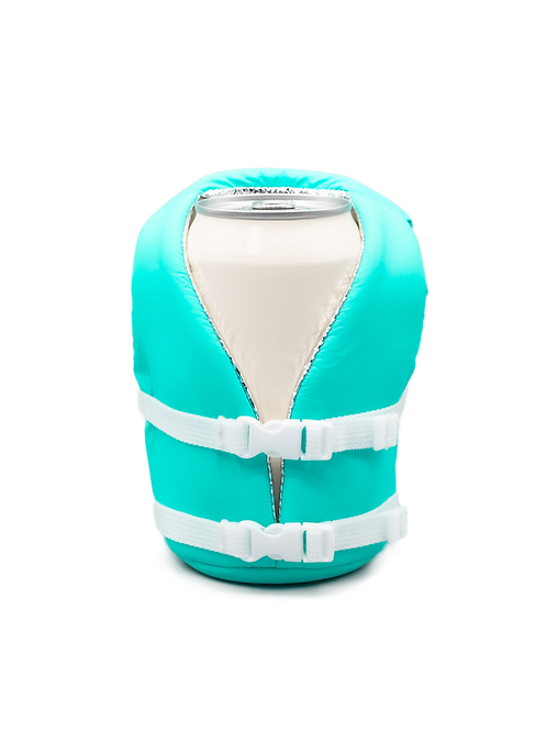 Puffin Coozies Life Vest (Sky Blue)