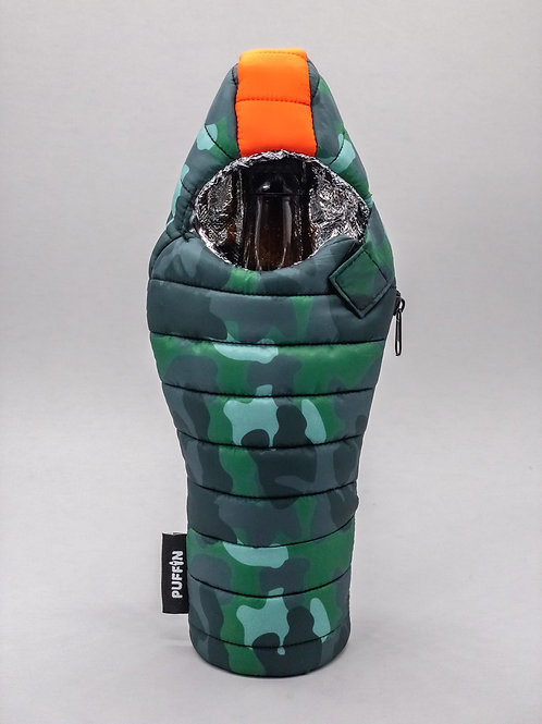 Puffin Coozies Beverage Bag (Camo)