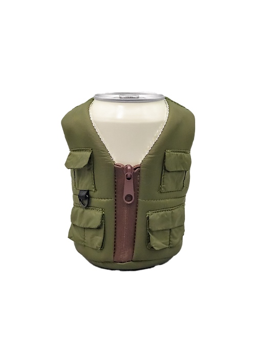 Puffin Coozies Adventure Vest (Ranger Green)