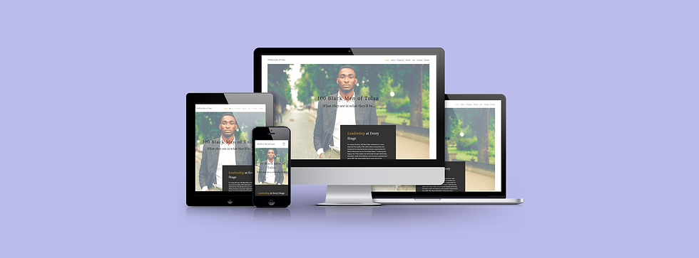 Websites 4 Good_Case Study_100 Black Men