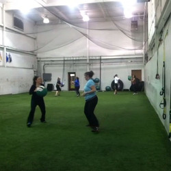 Boot Campers doing work