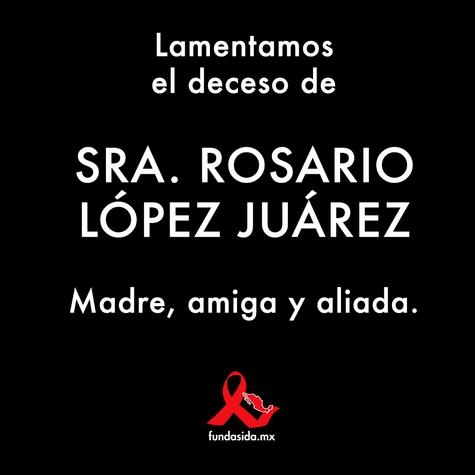 QPED. Sra. Rosario López Juárez