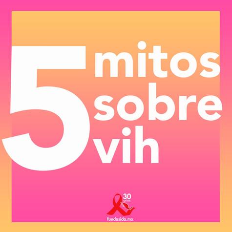 5 Mitos sobre VIH