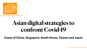 Asian digital strategies to confront Covid-19