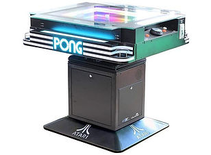 The Atari Pong Cocktail Table Has Arrive