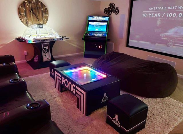 Enhance your game room with the Atari Po