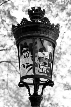 Paříž - detail lucerny