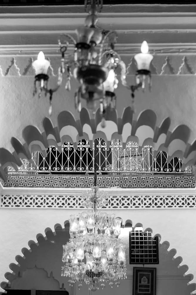 Tetuan - detail typického interiéru