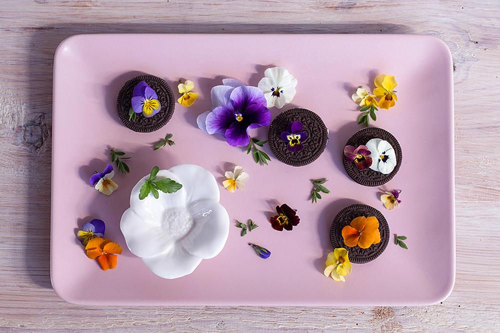 Květinové sušenky