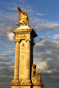 Paříž - most Alexandra III.
