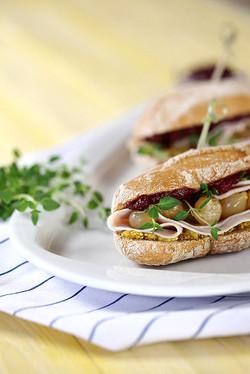 Krůtí sendvič