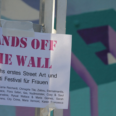 Hands Off The Wall Paint Jam