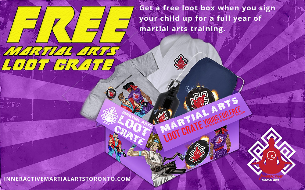 pickering martial artist gives away free loot crate with sign up