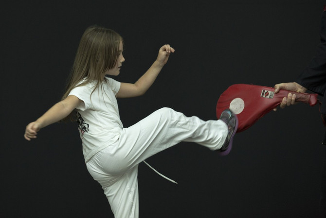 Focused Talented And Confident Childhood Through Martial Arts