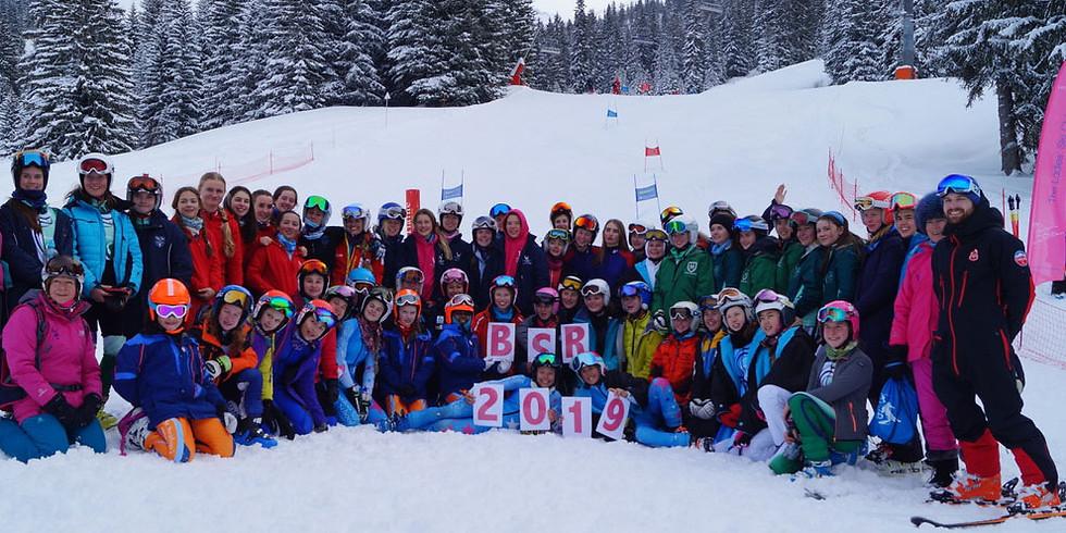 British Schoolgirls Races, Flaine: 25th - 28th January