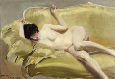 Joaquin-Sorolla-Desnudo-en-el-divan-amar