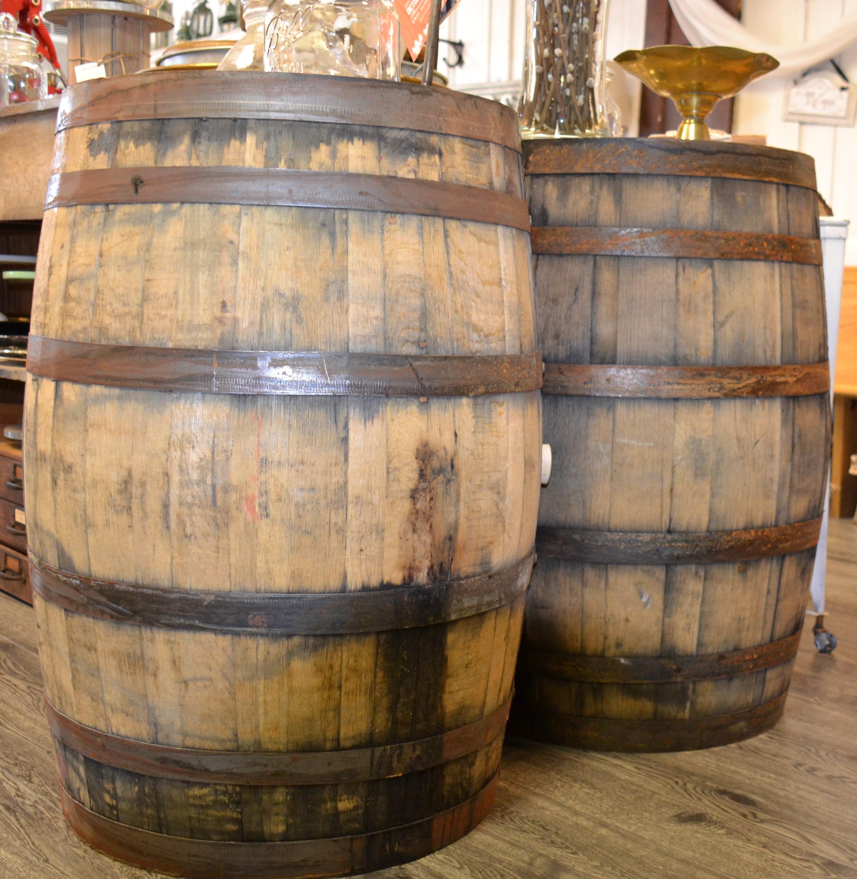 Rustic Wedding Maryland Whiskey Barrels