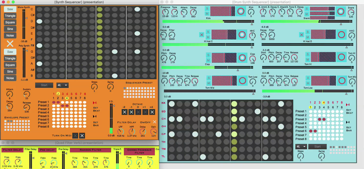 Synth & Sequencer
