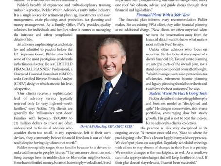 David Pickler Featured in December Issue of Kiplinger's