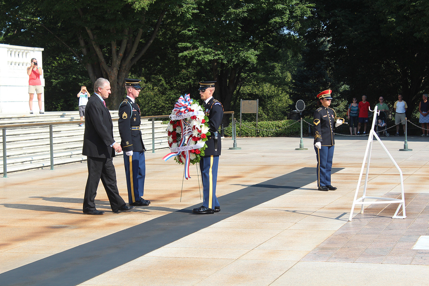 Wreath Laying at Arlington National Cemetery | Patriotism and Pride | American Public Education Foundation