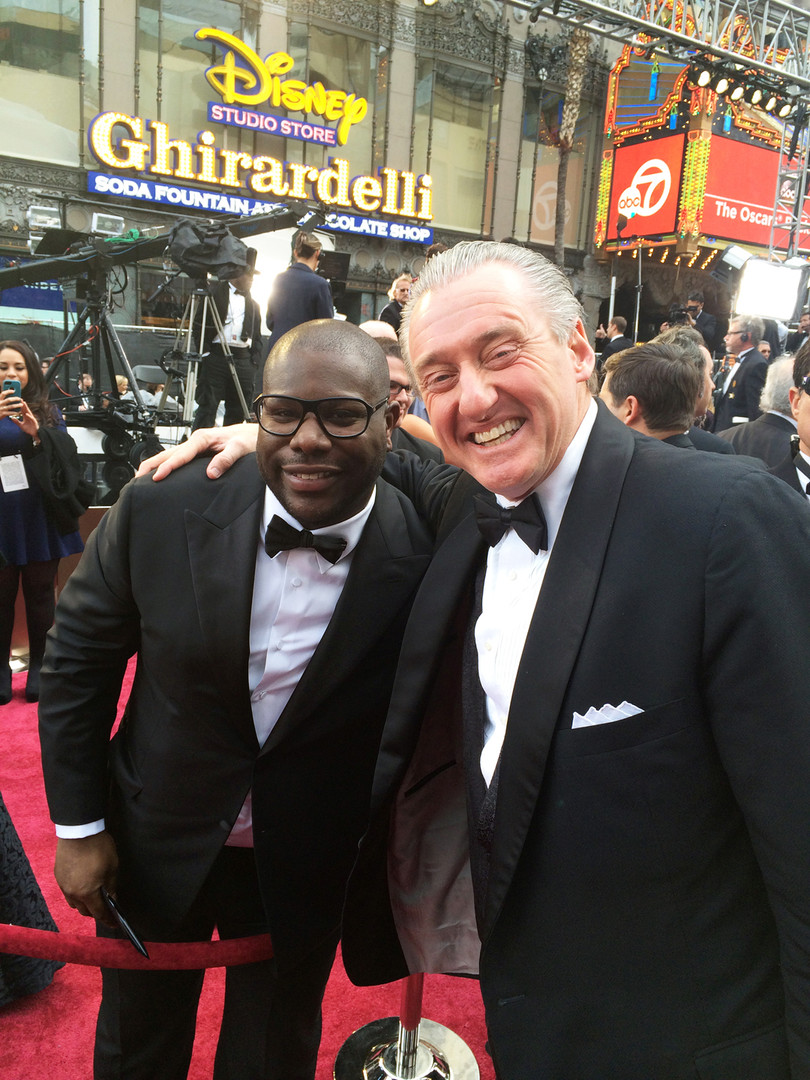 David Pickler representing the American Public Education Foundation at the Academy Awards   2014