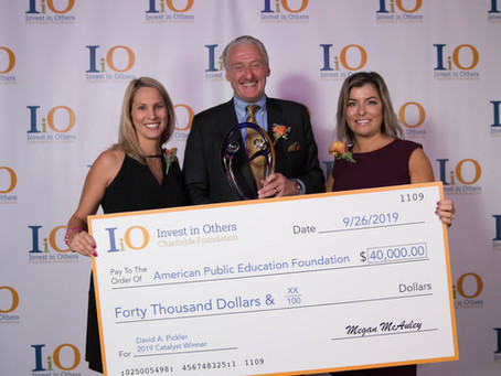 David A. Pickler Wins Invest in Others Catalyst Award