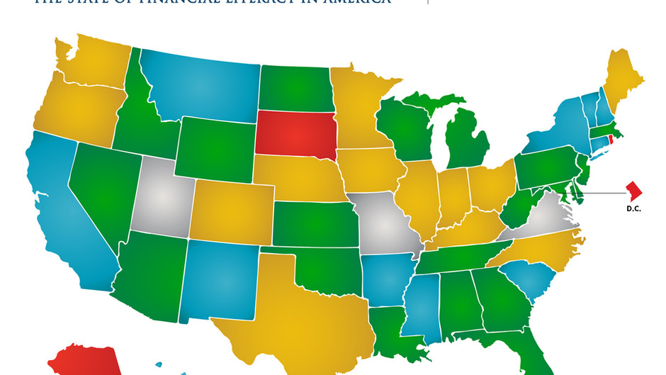 Nation's Report Card Reveals Striking K-12 Financial Literacy Gaps Across States