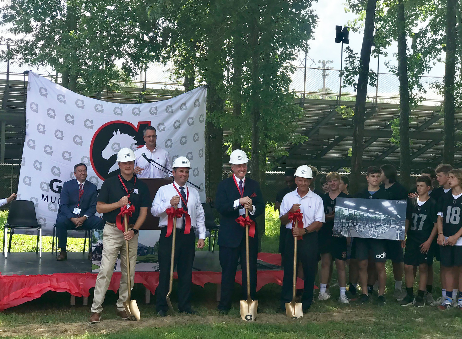 Breaking Ground at Houston High School | Germantown, TN | American Public Education Foundation