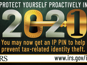 Protect yourself in 2021. Get an IRS IP PIN.