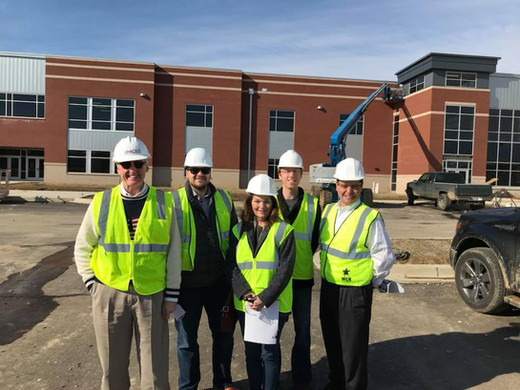 Construction of the NEW Collierville High School | American Public Education Foundation
