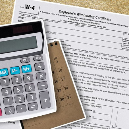 Here's How to Fill Out the New W-4 Form for 2020