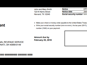 If you received a payment due notice and you mailed your check already.....