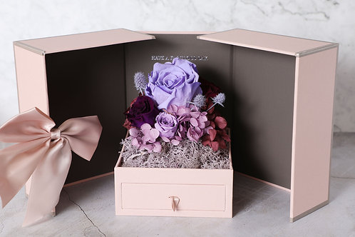 copy of Love in the box ( pink ) jewelry box