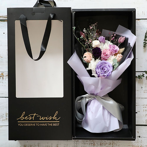 Boxed bouquet ( Local delivery only )