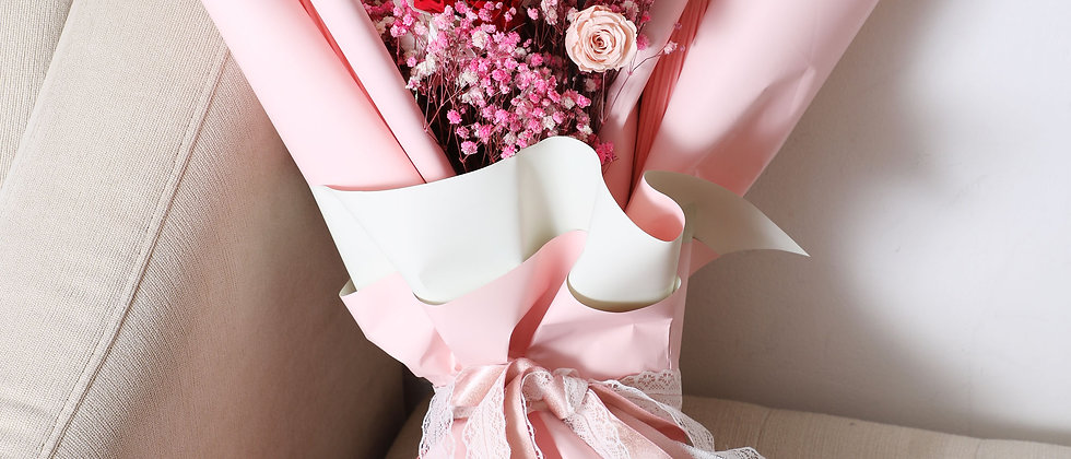 Pink Eternal Bouquets (NYC Only)