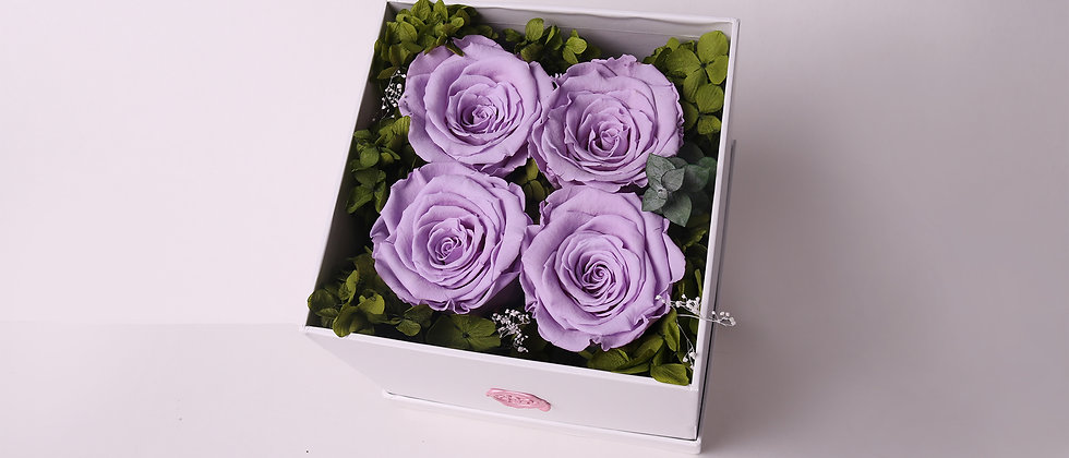 Purple Eternal Roses