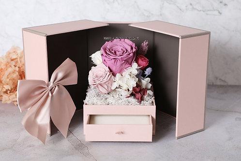 Love in the box ( velvet ) jewelry box