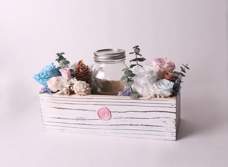 Be creative, send an eternal flower tip jar!