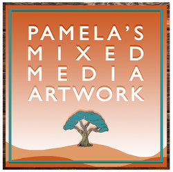 VM Pamela's Mixed Media Artwork LOGO