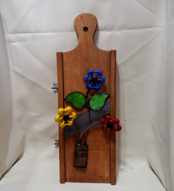 Tricolor flower grater