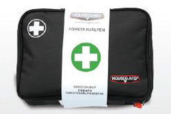 "Housegard First Aid Kit Black ""Mellan"""