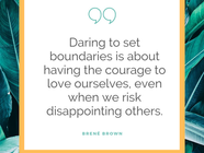 Learning to Establish Healthy Personal Boundaries